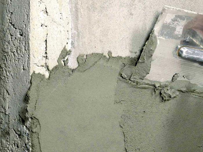 Бетонная стена − поверхность сложная