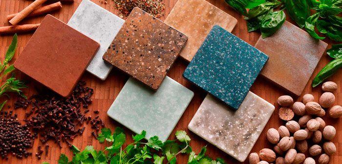 Новый материал – крион. Это акриловая имитация камня, тёплая на ощупь. Его используют во внутренней и наружной отделке