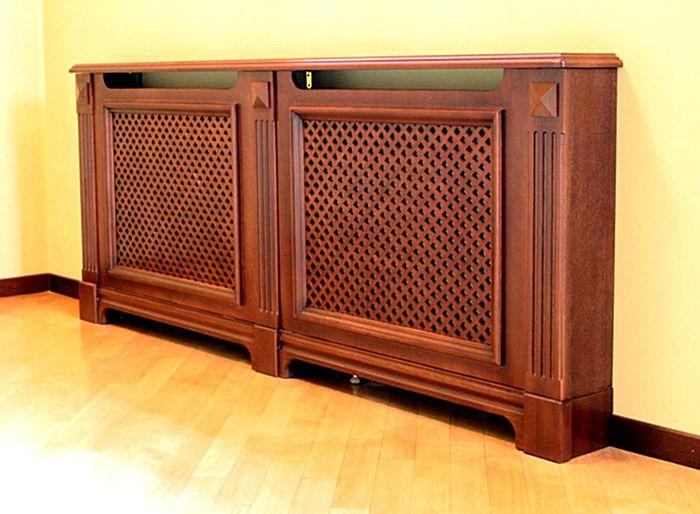 Если в комнате есть мебель из дерева, панели удачно впишутся в интерьер