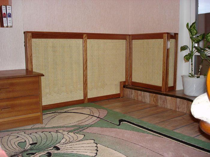 Для экзотического дизайна можно найти решётки из ротанга или бамбука