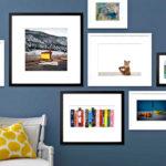 Оформление интерьера стен с помощью фото в квартире