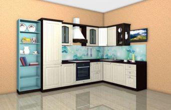 Угловые кухни: дизайн, фото