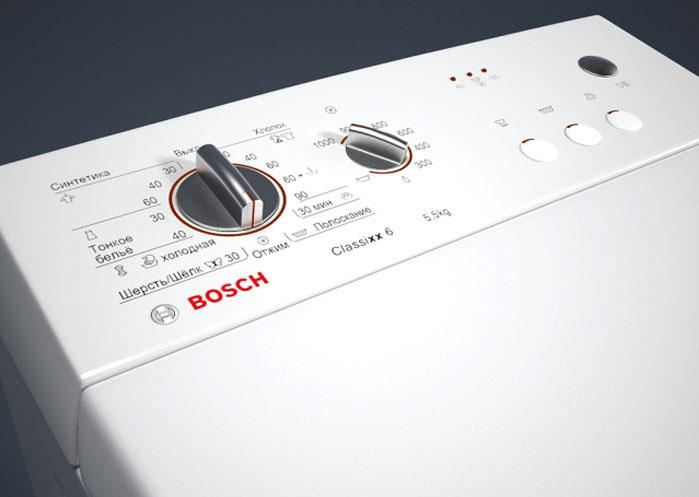 Внешний вид панели управления модели Bosch WOR 20153