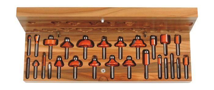 Набор концевых фрез для ручного фрезера марки «СМТ»