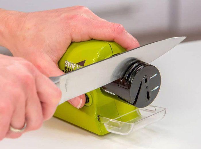 Электрические точилки удобны в использовании и не занимают много места