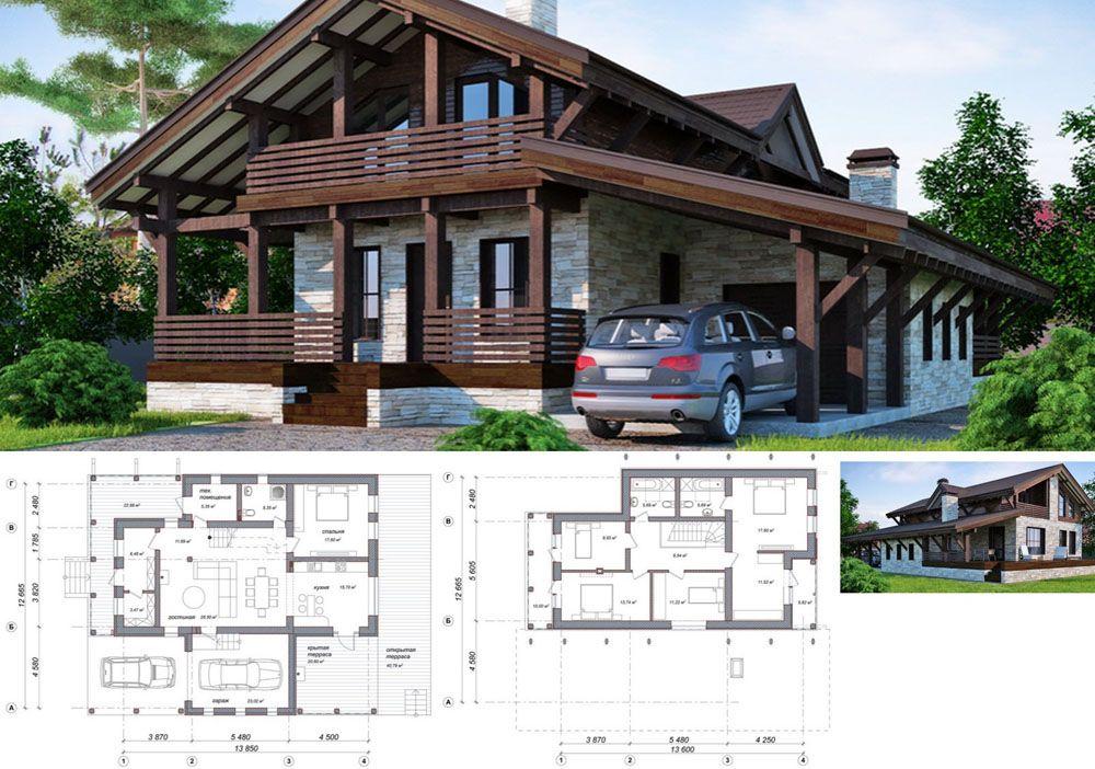 Проект дома ba-144