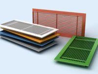 Цветовая гамма пластиковых изделий достаточно обширна, что помогает дизайнерам при оформлении помещений в едином стиле