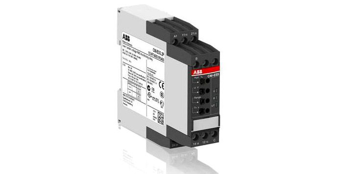 Однофазное реле контроля напряжения ABB CM-ESS.2S