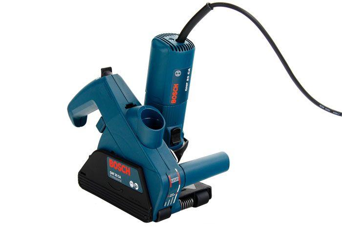 Штороборез «Bosch GNF 20 CA» используется при монтаже электрических и слаботочных сетей в зданиях из кирпича и более мягких строительных материалов