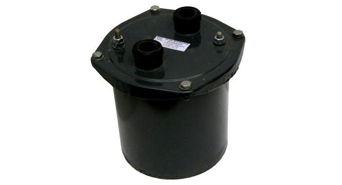 Модель понижающего трансформатора для бытового и промышленного использования, помещённая в защитный корпус