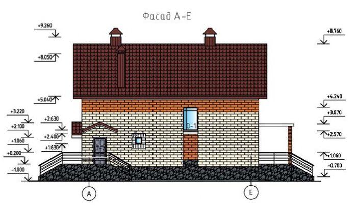 Чертёж фасада – это обязательный элемент любого строящегося объекта