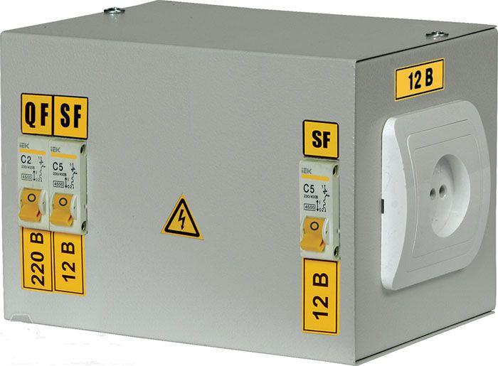 Модель электромагнитного трансформатора, предназначенная для бытового использования