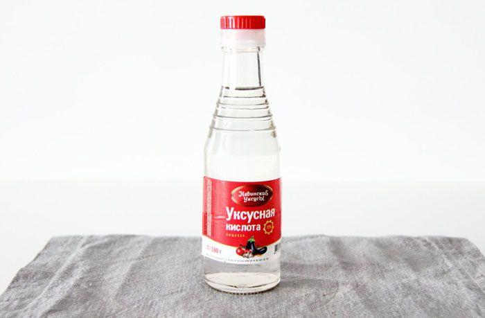 Использование уксусной кислоты является эффективным методом борьбы с накипью