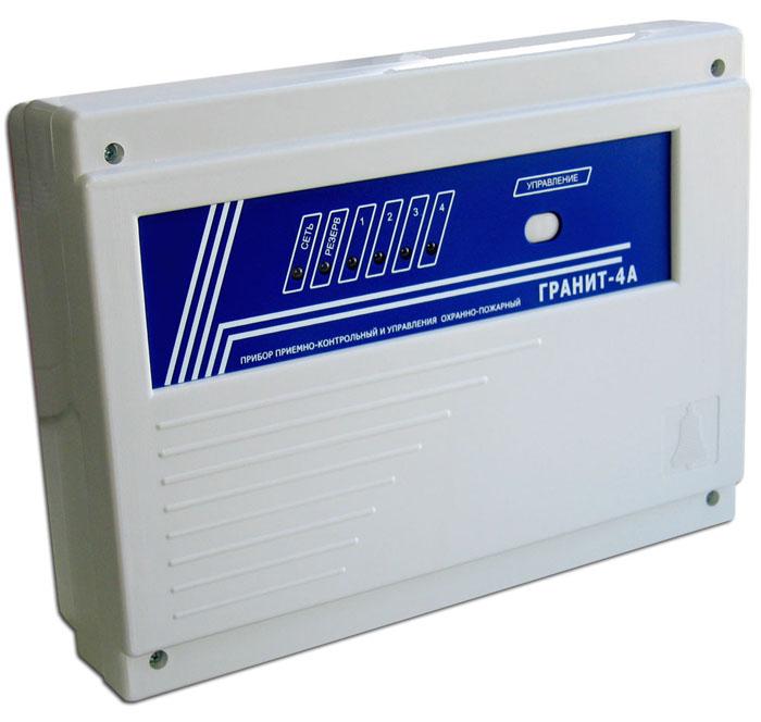 Прибор приёмно-контрольный марки «Гранит-4А»