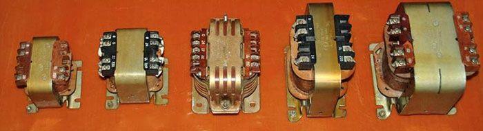 Понижающие трансформаторы марки ОСМ1 различной номинальной мощности