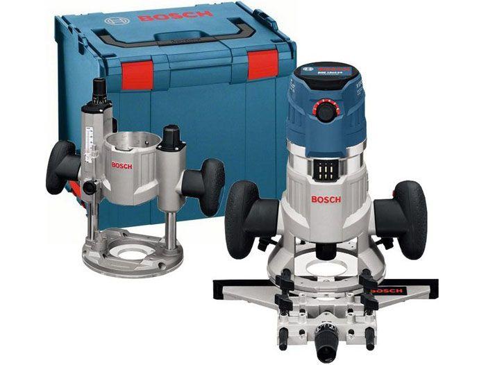 Универсальная фрезерная машина «Bosch» модель «GMF 1600 CE L-Boxx» со съёмной головной частью
