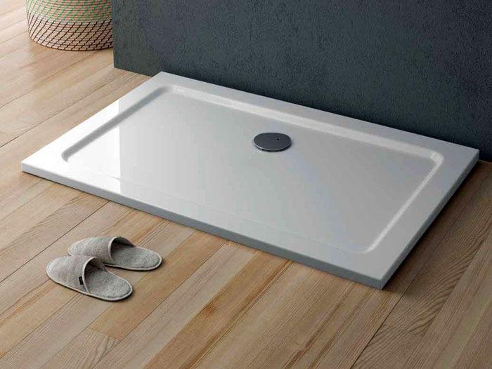 Модель «QUICKR» из серии «Showering ByGlass» выполнена из акрила в стандартных геометрических размерах