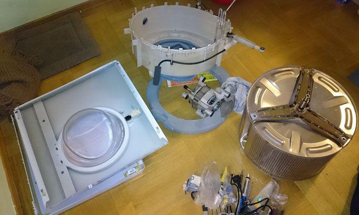 Как сделать полезные вещи из старой стиральной машины