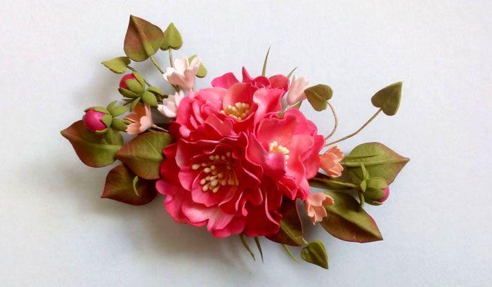 1-8 Цветы из фоамирана своими руками: лучшие мастер-классы