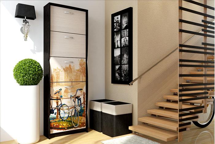 Шкаф всегда можно подобрать под стиль интерьера, сочетая практичность, удобство и красоту