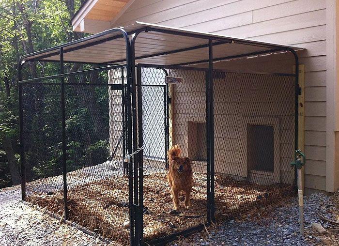 Ограда не только защитит ваших гостей от лишнего внимания пса, она убережёт его от нежелательных контактов с другими животными, которые могут принести опасную инфекцию