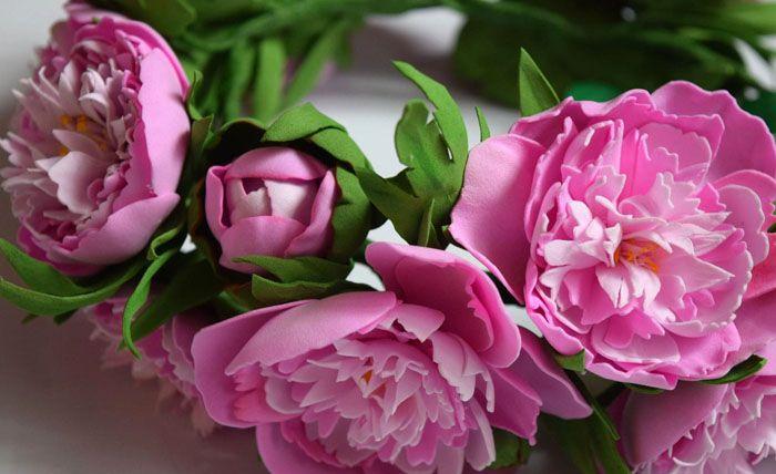 16-6 Цветы из фоамирана своими руками – с чего начинать