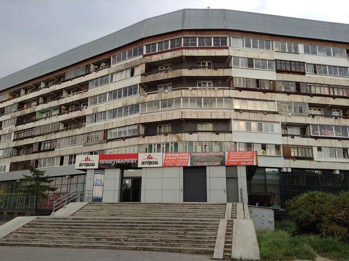 «Хрущёвка» −пример дома с малогабаритными квартирами