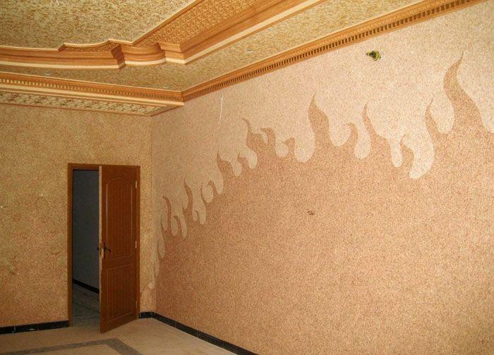 Любое помещение меняет свой облик с подобным покрытием и смотрится благороднее