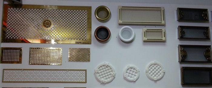 Декоративные накладки подбирают с учётом параметров фурнитуры и общих требований к дизайну
