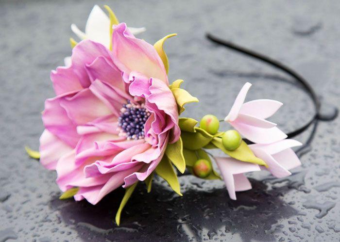 91d73572ec3f Для самых маленьких модниц и девочек постарше можно сделать украшения с  весёлыми смайликами, земляничкой, конфетами и зефирными цветочками.