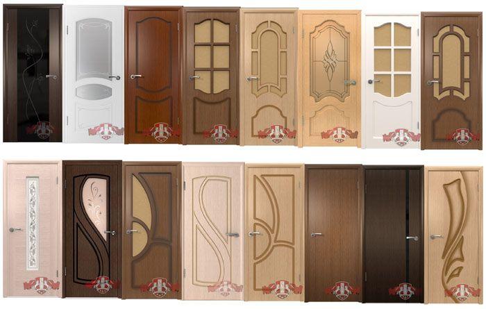 Часть актуального ассортимента «Владимирской фабрики дверей»