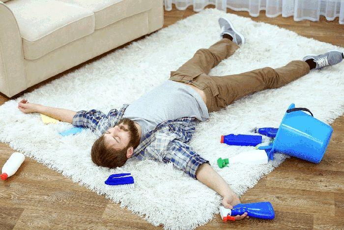 Чистый ковёр – это важная деталь идеального порядка