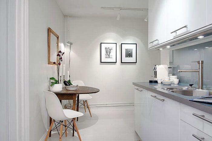 Визуальное увеличение пространства светлыми тонами создаёт комфортные ощущения даже в компактных комнатах