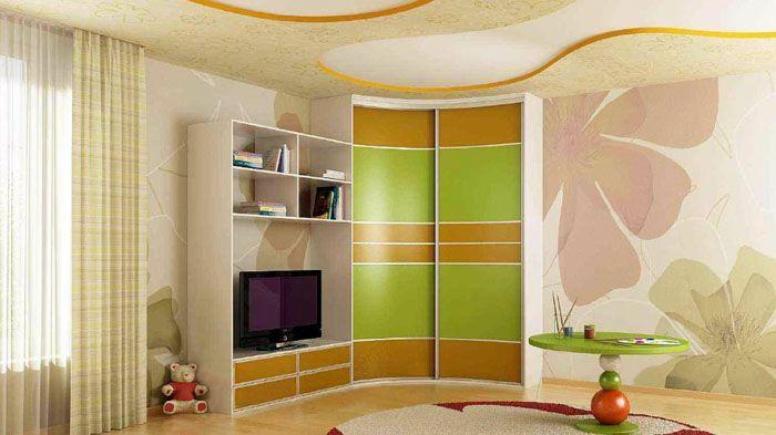 Мебель и общее оформление комнаты в единой цветовой гамме