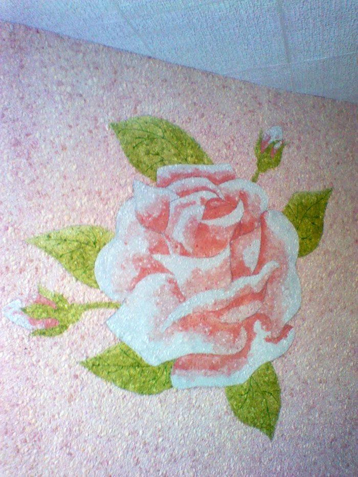 Рисунки могут быть одноцветными или цветными