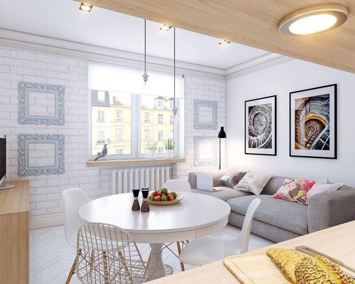 Если соблюсти все требования этого строгого и простого дизайна, вы удивитесь, насколько просторней и светлее стало ваше скромное жилище