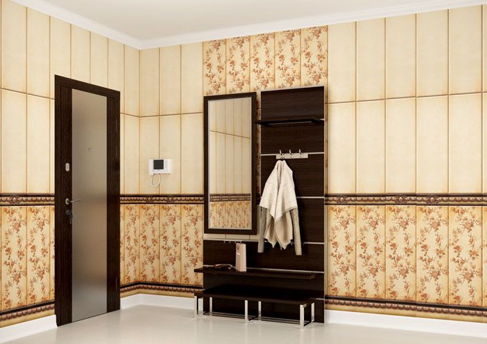 Панели «Кронапласт» используются для отделки кухонь, прихожих и ванных комнат