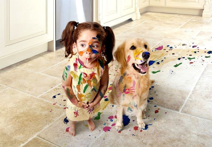 Если в вашем доме нет детей, собаки или кошки, достаточно проводить генеральную уборку пару раз в год