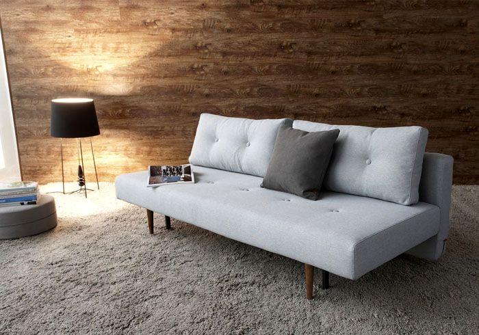 Простой и функциональный диван в скандинавском стиле