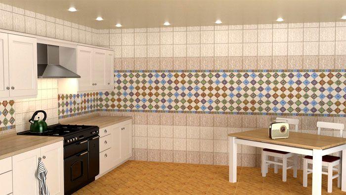 Оформленная панелями кухня выглядит очень аккуратно