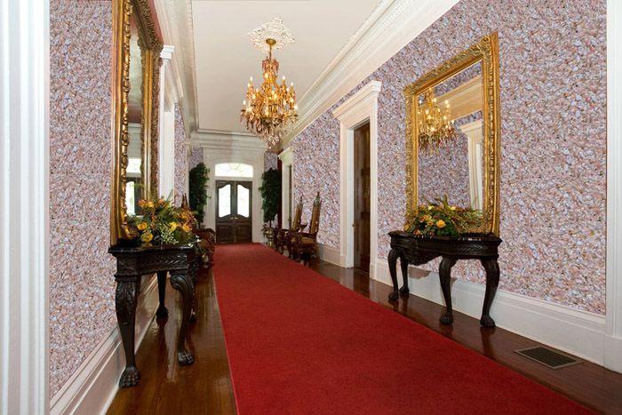 Поистине королевский вид длиной прихожей-коридора