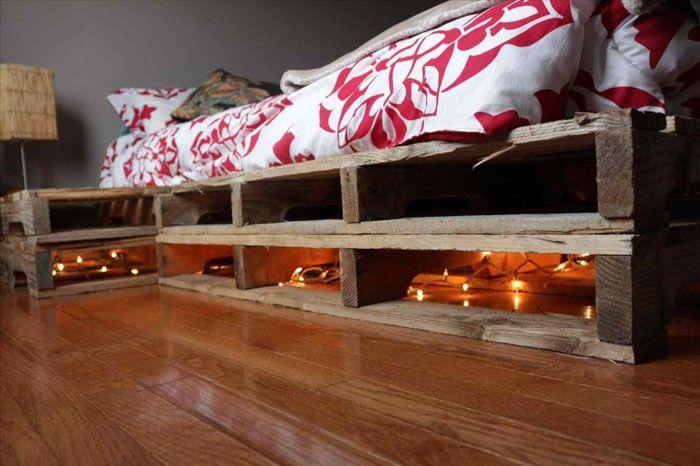 Используя разные конструкции, вы можете сделать кровать выше или ниже, соорудить ступеньки, внутренние ящики, изголовье или даже прикроватные тумбочки