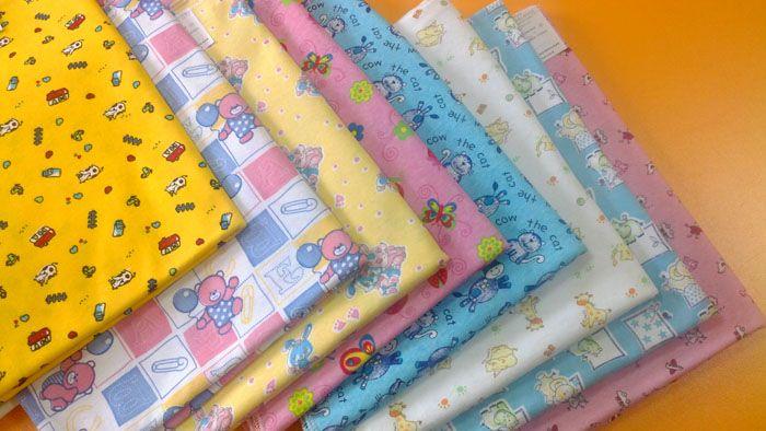 Перечисленные выше ткани приятны на ощупь и ребёнку и его родителям