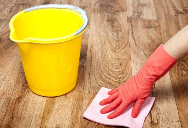 Как отмыть линолеум после ремонта