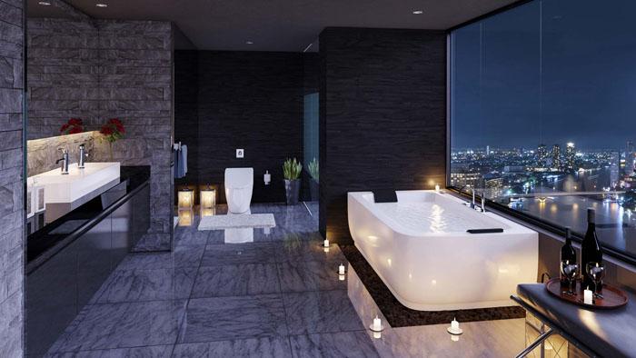 Ремонт в ванной комнате: фото