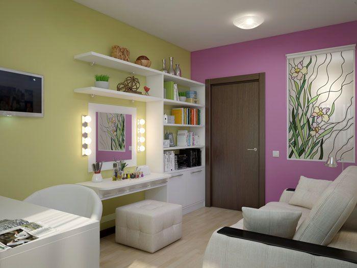 Гримёрное зеркало с лампочками Ikea: красота декора