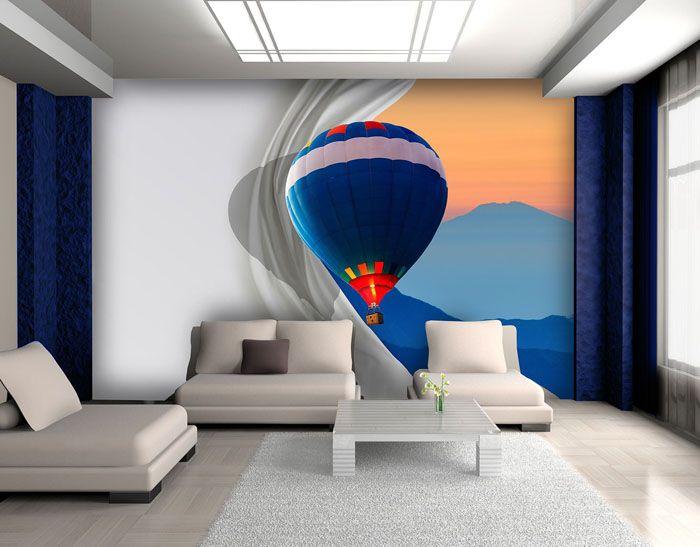 При первом взгляде, кажется, что воздушный шар движется