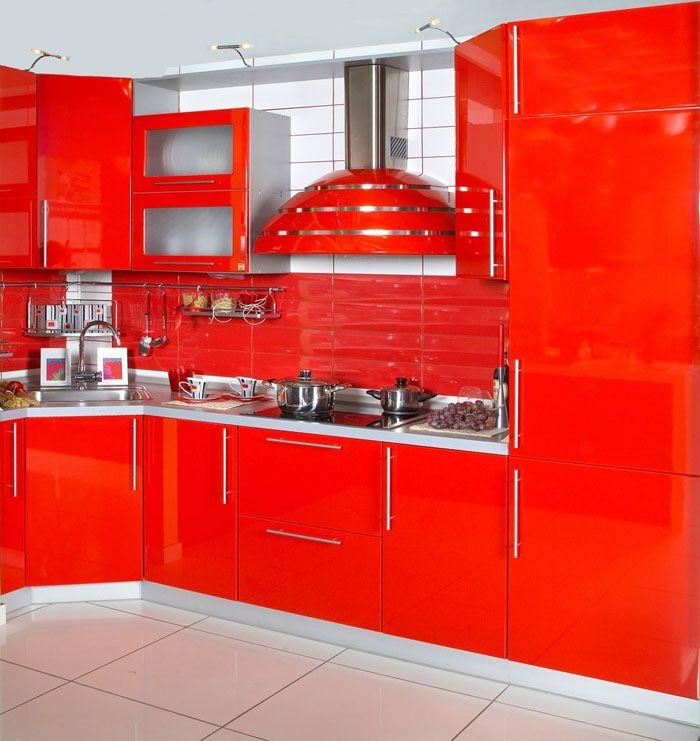 Красный цвет стимулирует аппетит, создаёт ощущение бодрости