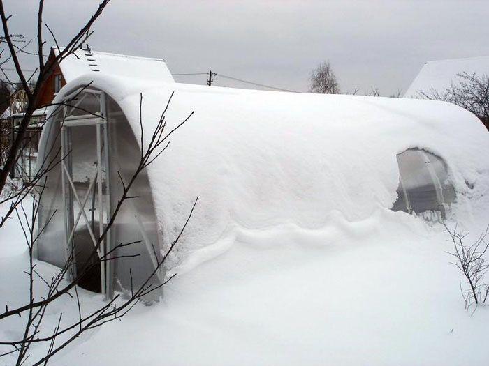 Коррекции делают с учётом реальной толщины снежного покрова, ветровых нагрузок в регионе