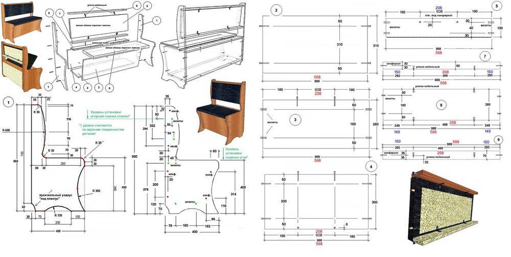 Для воспроизведения в домашних условиях можно использовать чертежи простой конструкции